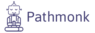 Pathmonk Logo Transparent