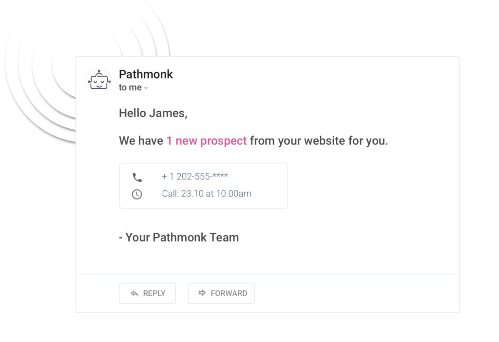 Get notified when you have new leads