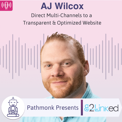 Direct Multi-Channels to a Transparent & Optimized Website _ Interview with AJ Wilcox from B2Linked