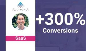 Auditoria saw a +300% Uplift in their Conversion Rate By Integrating Pathmonk