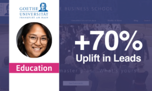How Pathmonk Helped Goethe Business School Achieve +70% Uplift in Leads