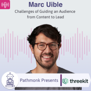 Challenges of Guiding an Audience from Content to Lead